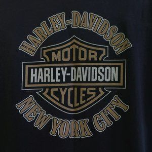 Harley Davidson New York City Tee T Shirt Black XL
